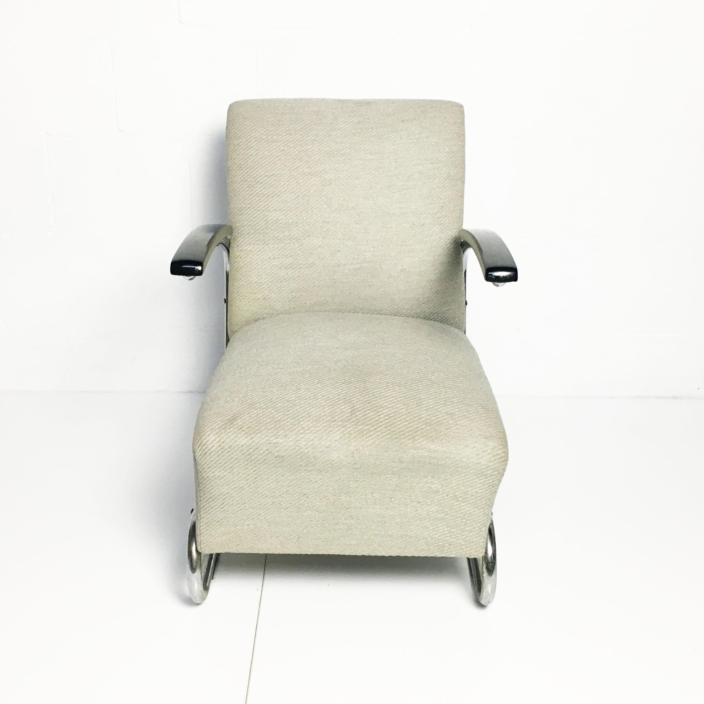 vintage thonet s411 fauteuil bureau baantjer. Black Bedroom Furniture Sets. Home Design Ideas