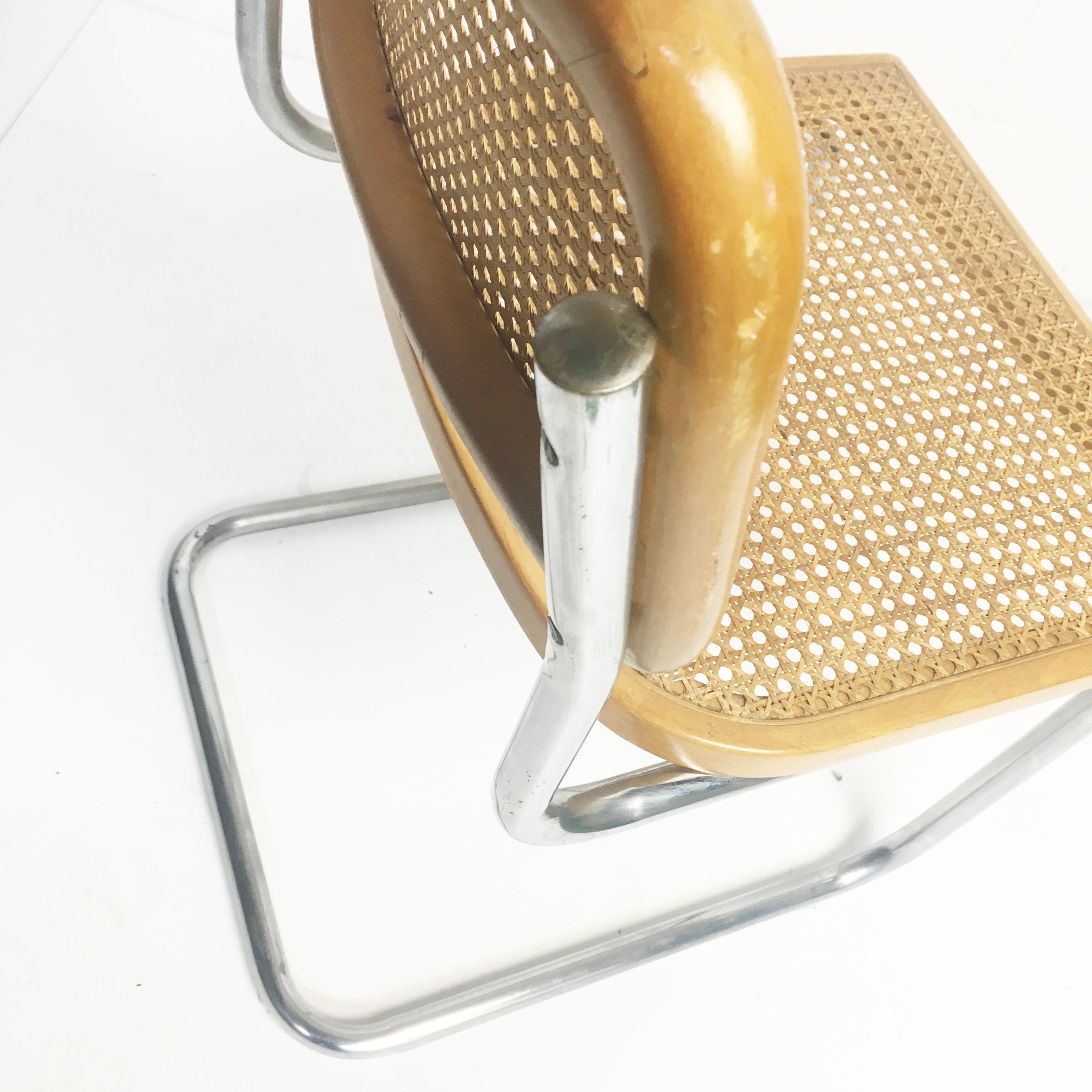 vintage thonet s32 stoel by marcel breuer bureau baantjer. Black Bedroom Furniture Sets. Home Design Ideas